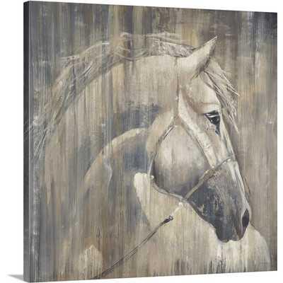 'His Majesty' by Liz Jardine Painting Print on Canvas - Wayfair