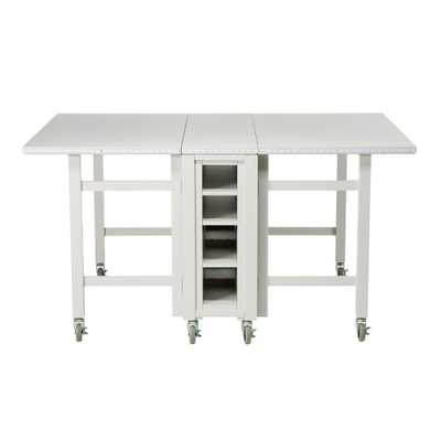 Picket Fence Collapsible Craft Table - Home Depot
