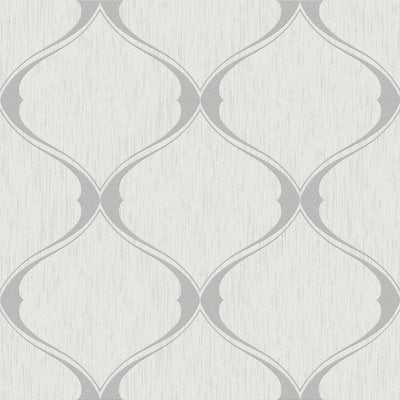 Bourget 33' x 20'' Trellis 3D Embossed Wallpaper Roll - AllModern