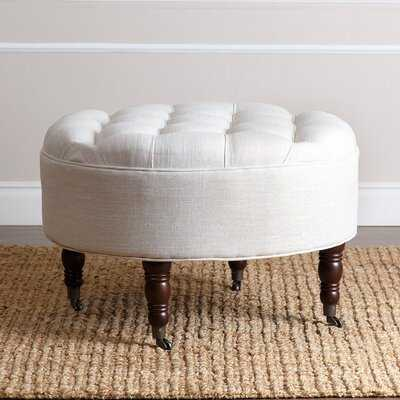 Marshall Tufted Cocktail Ottoman - Birch Lane