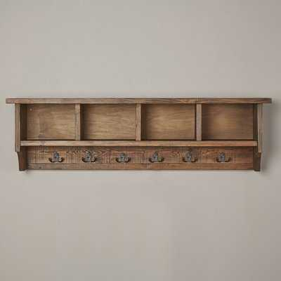 Veropeso Wall Mounted Coat Rack with Storage Cubbies - Wayfair