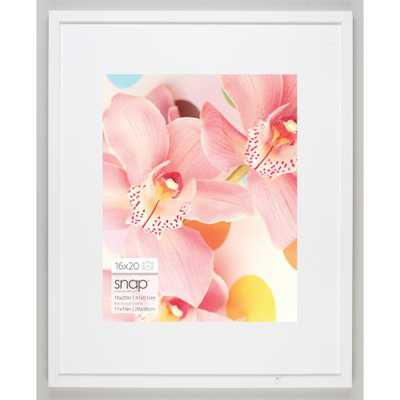11 in. x 14 in. White Picture Frame - Home Depot