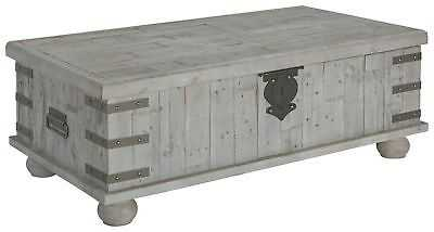 Gracie Oaks Altair Trunk Coffee Table with Lift Top - eBay