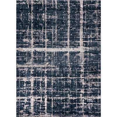 Uptown Collection by Jill Zarin Navy Blue 9' x 12' Rug - Home Depot