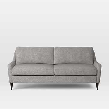 Everett Sofa, Deco Weave, Feather Gray - West Elm
