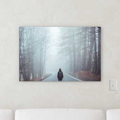 'Fog' Photographic Print on Canvas - Wayfair