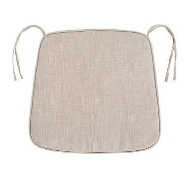 PB Classic Dining Chair Cushion, Small, Grainsack - Pottery Barn