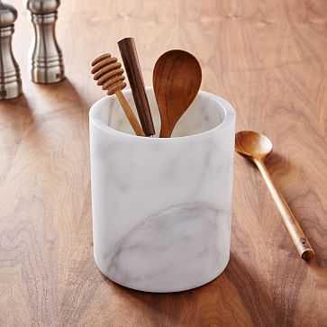Marble Kitchen Utensil Holder - West Elm