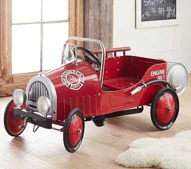Firetruck Pedal Car - Pottery Barn Kids