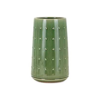 Imax Beryl Small Vase, Green - Home Depot
