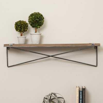 Pieper Metal Wall Shelf - Wayfair