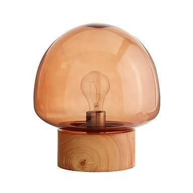 Dome Glass Table Lamp - Pottery Barn Teen
