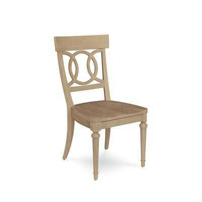 Carrie Wood Dining Chair (Set of 2) - Wayfair