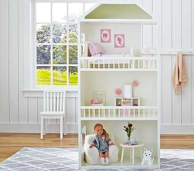 Woodbury Gotz Doll House - Standard UPS Delivery - Pottery Barn Kids
