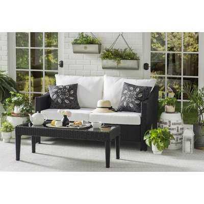 Diamond Hand-Woven Platinum/White Indoor/Outdoor Area Rug - Wayfair