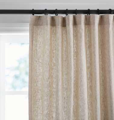 Linen/Cotton Drapery Panel - Oat - Rejuvenation
