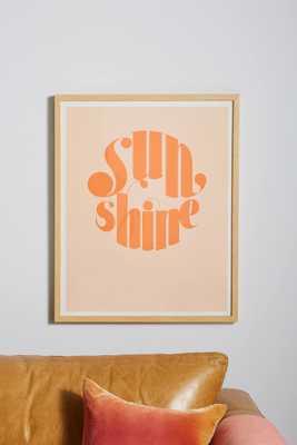 Sunshine Wall Art - Anthropologie