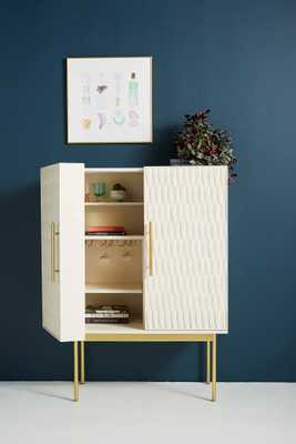 Feather Collection Bar Cabinet - Anthropologie
