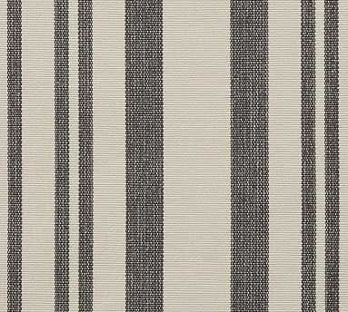 Fabric By The Yard, Antique Stripe Gray - Pottery Barn