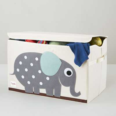 3 Sprouts Elephant Toy Chest - Crate and Barrel