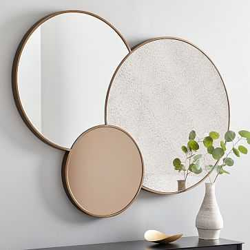 Graphic Stone Mirror Clear/Foxed/Tinted Large - West Elm