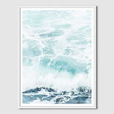 "Minted for west elm, Storm Swell, 32""x42"" - West Elm"