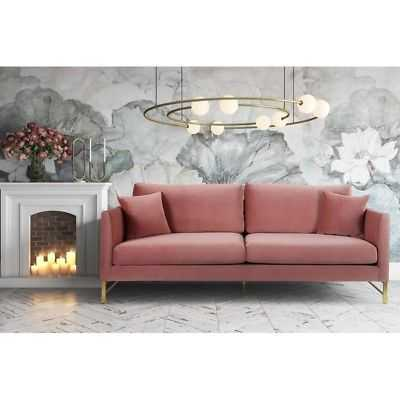 Massi Rose Velvet Sofa - eBay