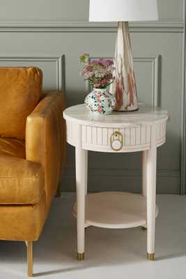 Marcelle Storage Side Table - Anthropologie