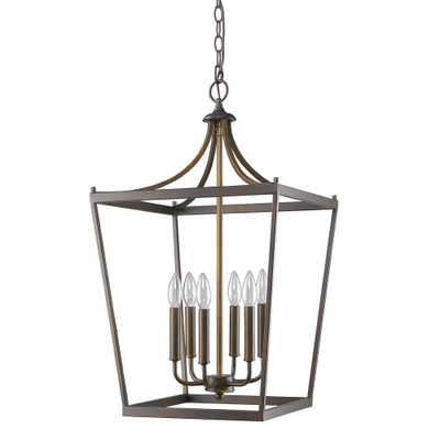 Acclaim Lighting Kennedy Indoor 6-Light Oil Rubbed Bronze Chandelier - Home Depot