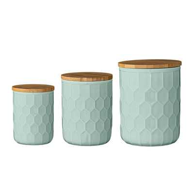Scandinavian 3 Piece Kitchen Canister Set - AllModern