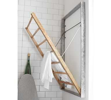 Galvanized Laundry Drying Rack - Pottery Barn