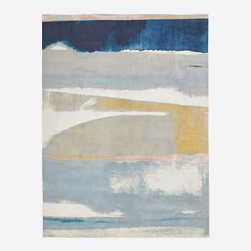 Sunkissed Landscape Rug, Light Pool, 8'x10' - West Elm