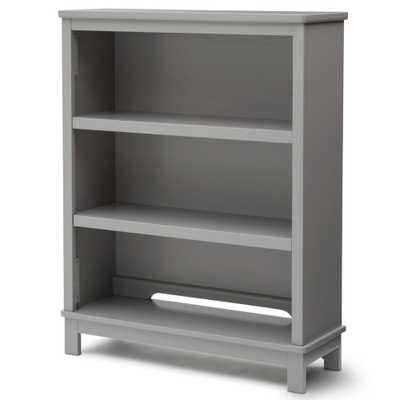Universal 3-Shelf Gray Bookcase - Home Depot