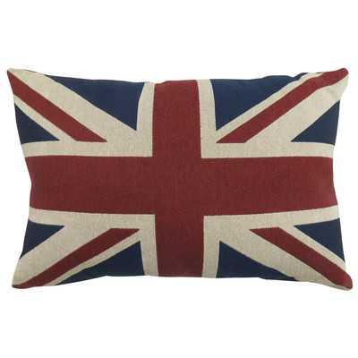 Aldora Union Jack Tapestry Decorative Throw Pillow - Wayfair