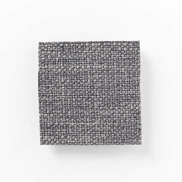Upholstery Fabric by the Yard, Linen Weave, Steel Gray - West Elm