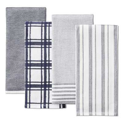 Williams Sonoma Multi-Pack Absorbent Towels, Navy Blue - Williams Sonoma
