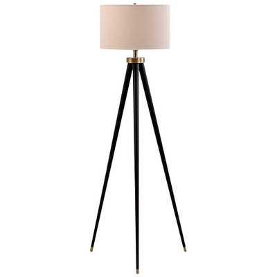 Hendrick Dark Bronze Tripod Floor Lamp - Style # 44E32 - Lamps Plus