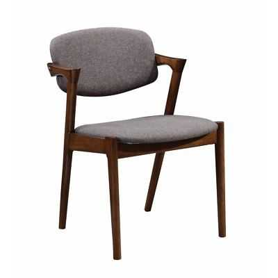 George Oliver Durrah Wooden Upholstered Dining Chair Set of 2 - eBay