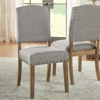 Pompon Upholstered Dining Chair - Set of 2 - Birch Lane