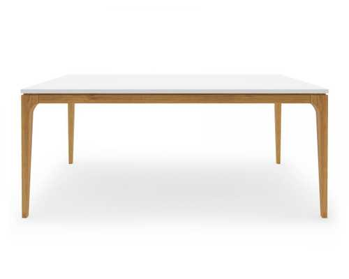 Lars Dining Table - White - Rove Concepts