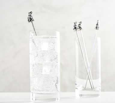 Bear Cocktail Stirrers, Set of 4 - Pottery Barn