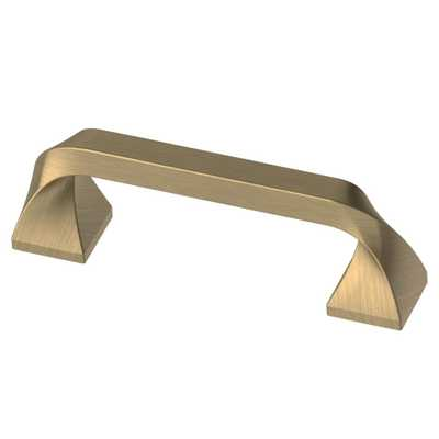 Everly 3 in. (76mm) Champagne Bronze Drawer Pull - Home Depot