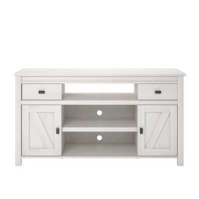 Brownwood Ivory Oak 60 in. TV Stand - Home Depot
