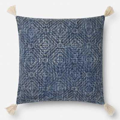 Bourgeois Cotton Throw Pillow - Birch Lane