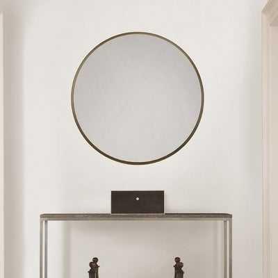 Samson Adelina Circular Accent Mirror - Wayfair