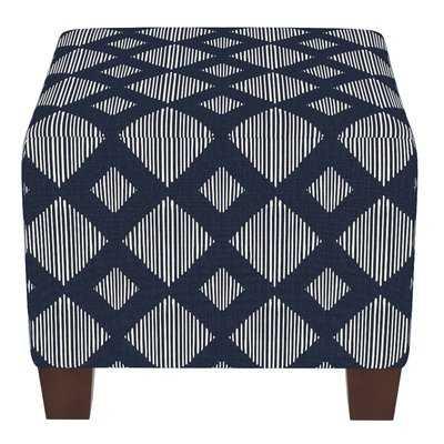 Stutes Cube Ottoman - Wayfair