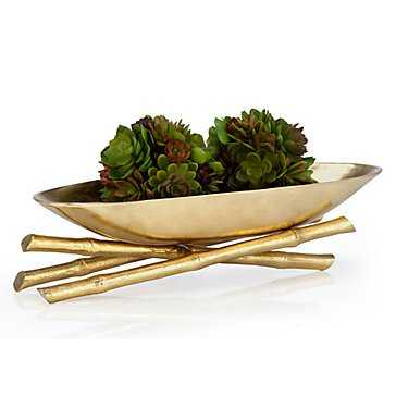 Golden Bamboo Bowl - Z Gallerie