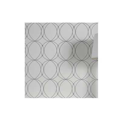 "Graham and Brown Wall Decor 33' x 20.5"" Satin Wallpaper Roll - AllModern"