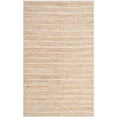 Cape Cod Natural/Ivory 5 ft. x 8 ft. Area Rug - Home Depot