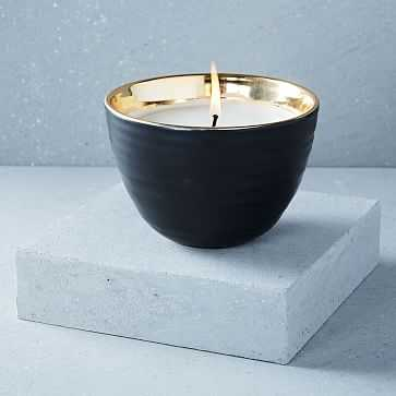 Naturalist Ceramic Candle, Hearth - West Elm
